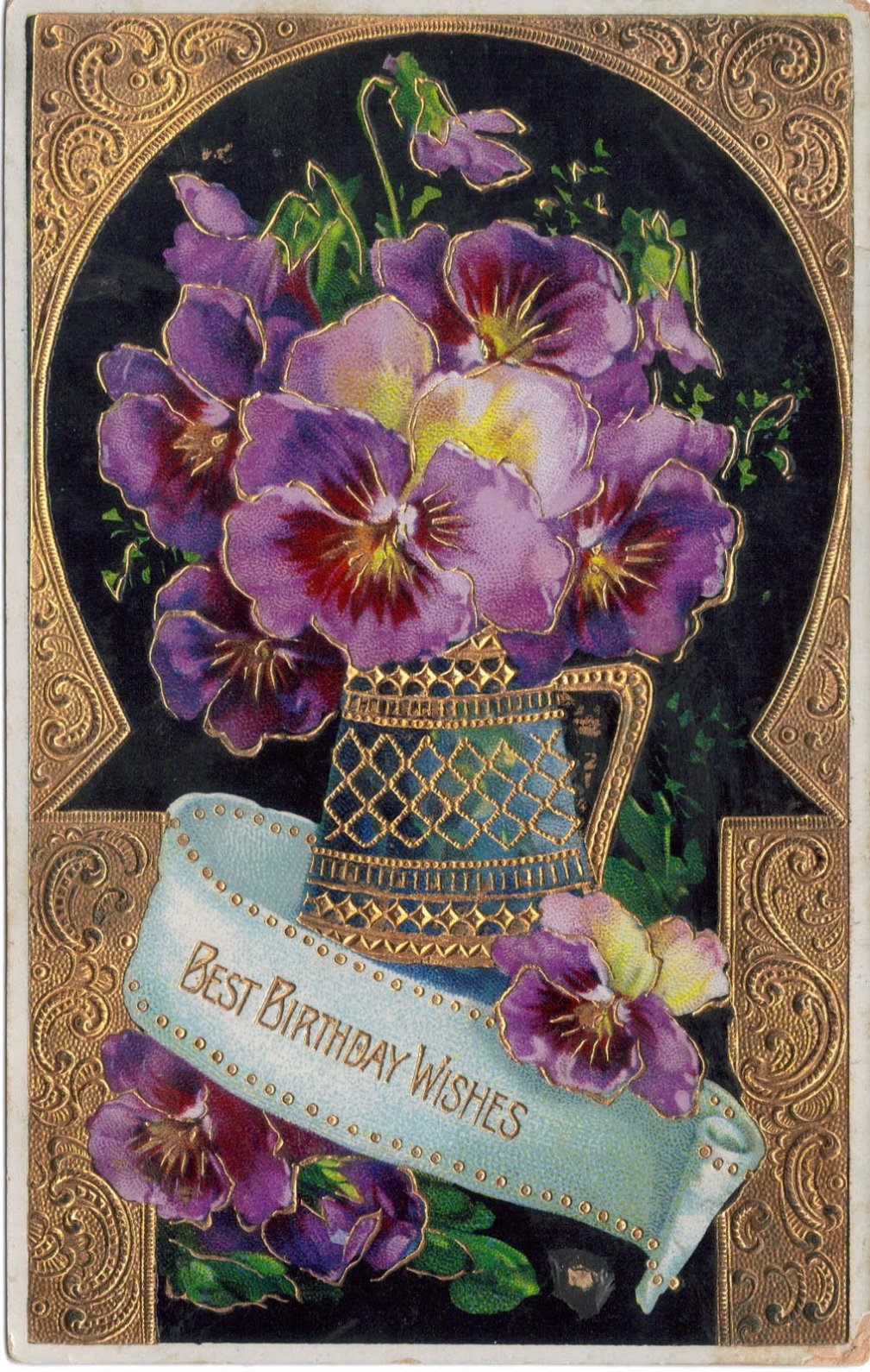 Floral Birthday Card Greetings