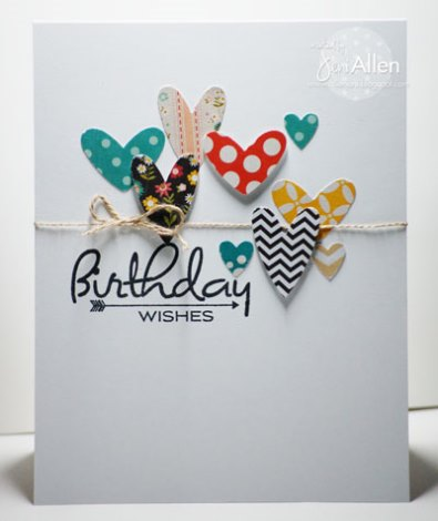 Birthday wishes card for girls