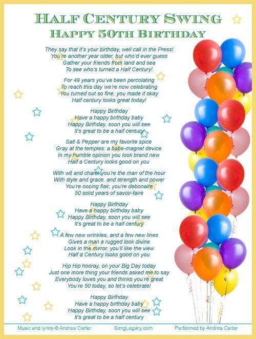 Balloon Birthday Card