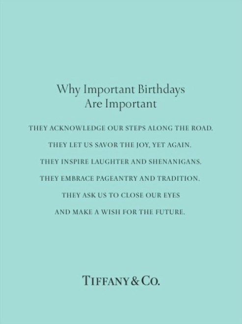 philosophy and importance of birthday event